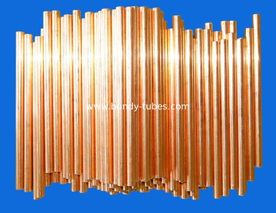Steel Tubes Air Conditioning Copper Tubing For Heat Exchanger 9.53 * 0.7mm