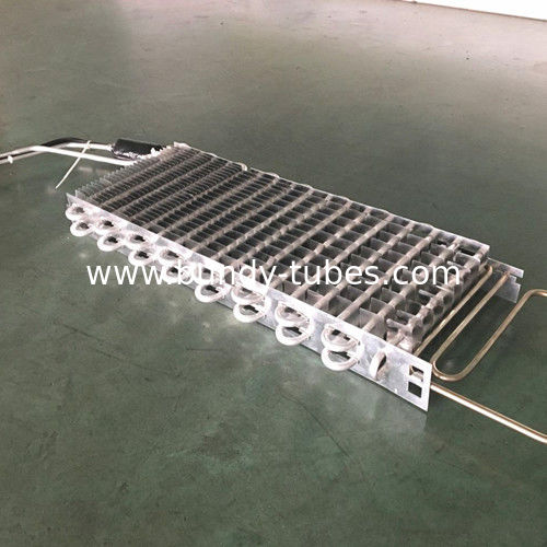 Finned Type Evaporator With Aluminum Material Tube And Fin For Refrigeration Equipment