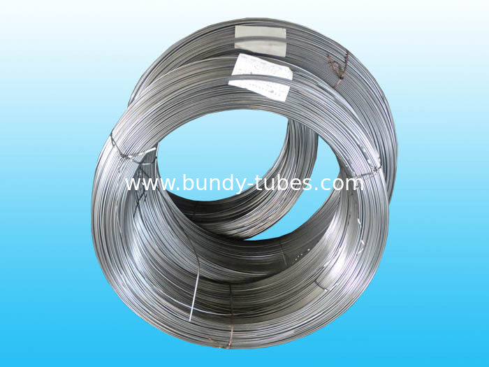 Precise Welded Single Wall Steel Bundy Tube  Easy To Bend 4mm  X  0.5 mm