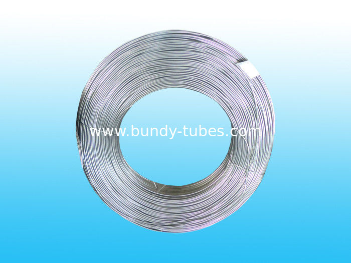 Hot Galvanized Bundy Pipe with Steel Zinc-Plating 6.35 X 0.7 mm