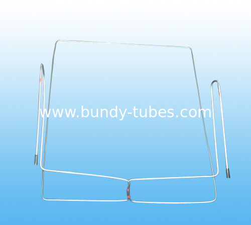 Condenser Tube 4 * 0.65 mm , Zn Coated Low Carbon Steel Bundy Tubes