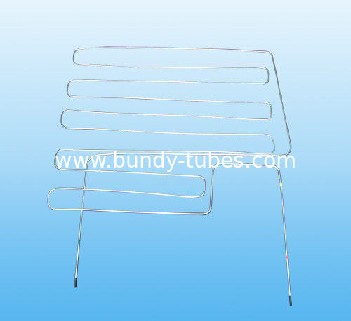 Chiller / Cooling System 0.65mm Condensation Tube Passed ISO14001 ISO9001