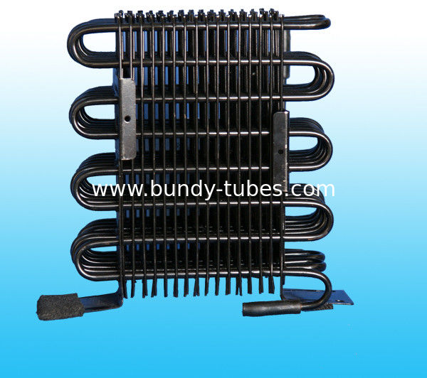 Wire Tube Condenser For Refrigeration System ISO9001 Certificated